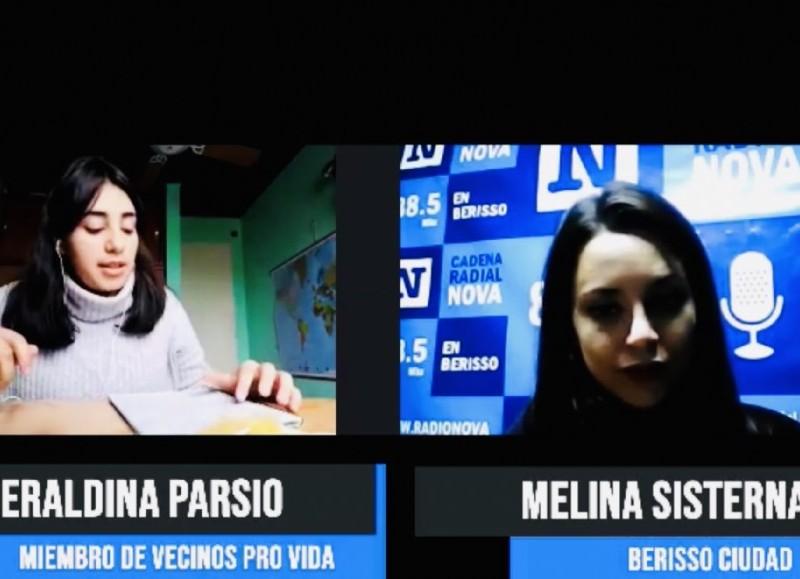 Geraldina Parsio en diálogo con BerissoCiudad.