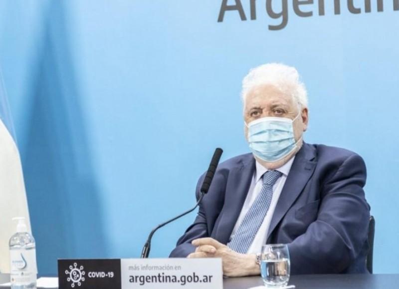 Ginés González García, exministro de Salud de la Nación.