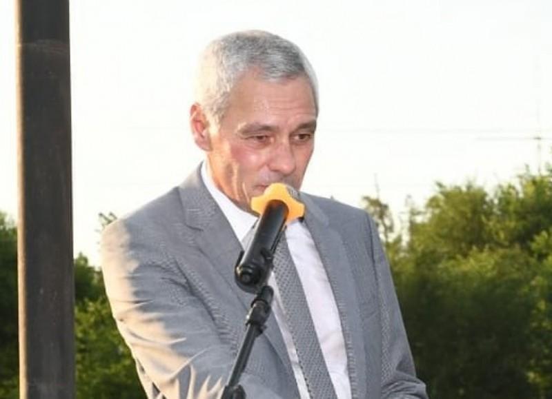 El intendente Fabián Cagliardi.
