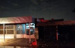 Incendio en una vivienda de 34 y 165