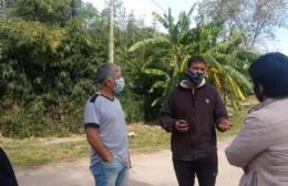 Maximiliano Alí se reunió con los vecinos y adelantó las obras que se harán en Villa Progreso