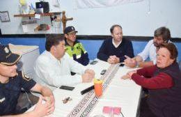 Nedela recorrió junto a autoridades policiales calles de El Carmen