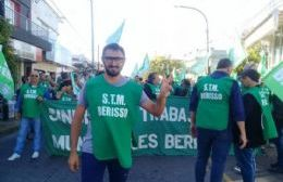 Santiago D'Elía, secretario de Prensa del STMB.
