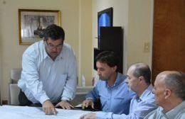 El intendente recibió a directivos de Camuzzi Gas Pampeana