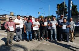 Taxistas de Berisso adhieren a la movilización en Capital contra Uber