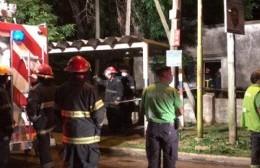Falleció un hombre en un incendio en calle 11 y 152