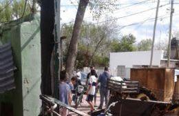 Piden colaboración para una familia a la que se le incendió la casa