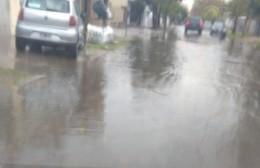 Alerta meteorológica y cúmulo de agua