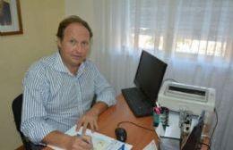 Hugo Dagorret, secretario de Seguridad de la comuna.
