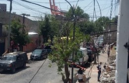Toda una familia quedó en la calle tras el incendio de su vivienda