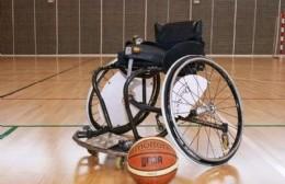 Jornada de promoción y capacitación de básquet sobre silla de ruedas