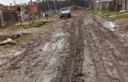 Penurias en Villa Roca por la condición de las calles