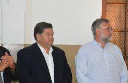Un ministro de Vidal acompañó a Nedela en el acto de inicio de clases