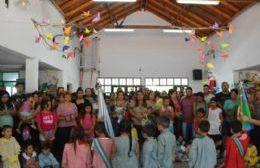 Nedela inauguró el Inicio del ciclo lectivo en el jardín de Infantes Nº 907