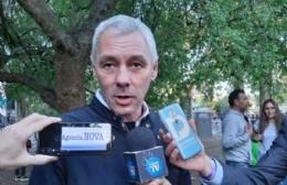Fabián Cagliardi, candidato a intendente de Berisso con el Frente de Todos. (Foto: NOVA)