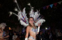 Noche de Carnaval Peronista en Villa Paula