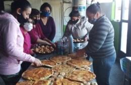 Emprender logró elaborar pizzas para los chicos y chicas