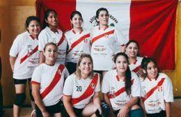 Formación del equipo femenino