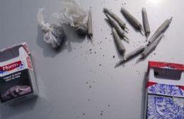 Dos jóvenes detenidos por tenencia de marihuana