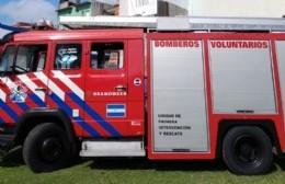 Bomberos controlaron un incendio en una vivienda de 122 bis entre 57 y 58