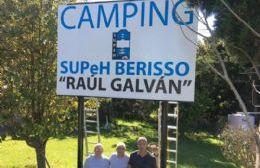 El sueño del camping del SUPeH Berisso comienza a ser una realidad