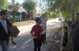 Operativo de prevención contra el dengue en El Carmen
