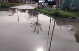 Penosa postal en El Carmen: La esquina de la laguna podrida