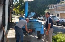 """Cocina de campaña del CEVECIM: """"Nos estamos cuidando todos y queremos colaborar con el municipio"""""""