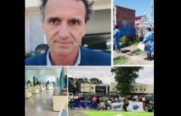 Visitas y promesas; reforma fiscal = aumento de tasa municipal; guerra de pañuelos;  inseguridad y COVID