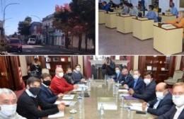 """El intendente de la Gobernación al choripán, la oposición """"reaccionó"""" y los comercios necesitan abrir"""