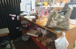 Robo en comercio de la Montevideo: Se llevaron mercadería y toda la plata de la caja