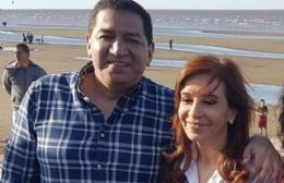 Ramón Garaza y Cristina Fernández de Kircher.