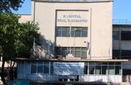 Estuvo internado en el Hospital San Martín.