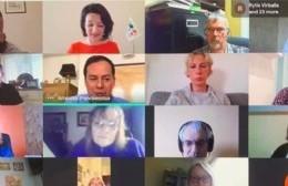 Con participación berissense, se desarrolló una reunión virtual de la comunidad lituana mundial