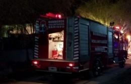 Una mujer se prendió fuego en calle 3 y 162