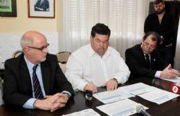 Luis Ferella y Jorge Nedela.