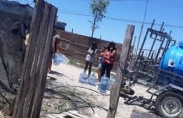 """Vecinos sin agua pidieron que el Municipio """"se haga responsable, sin sacarle agua a los Bomberos"""""""