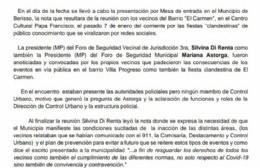 """""""Gorda recuperada e impresentable"""" y """"cabezas de tacho"""": Repudiables declaraciones del coordinador de foros"""