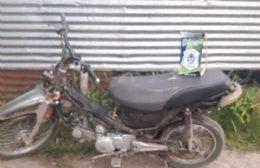 Detenido por circular en una moto robada