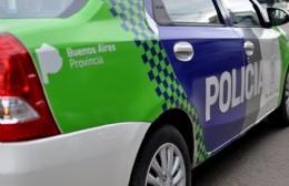 Intervención policial.