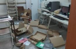 Robos y destrozos en distintas escuelas de la ciudad