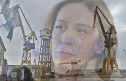 María Eugenia Vidal sigue sin darle respuestas a los trabajadores del Astillero Río Santiago. El jueves, hay asamblea general y movilización a Gobernación. (Foto: NOVA)
