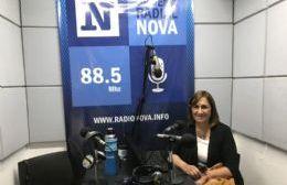Adriana González, precandidata a intendente
