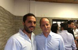 El candidato a Intendente en Berisso junto al Jefe Comunal de Lomas de Zamora