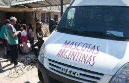 Jornada de castración gratuita de perros y gatos en el Fortín Gaucho
