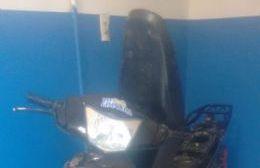 Circulaba en la moto con pedido de captura: Fue aprehendido
