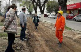 Concejales oficialistas supervisaron obras municipales