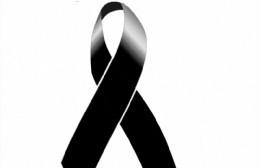 Profundo pesar por el fallecimiento de Oriana Roldán