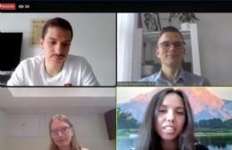 Actividades virtuales con la colectividad lituana local en representación de nuestro país