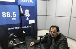Pablo Meza contó su experiencia en el aire de BerissoCiudad en Radio.